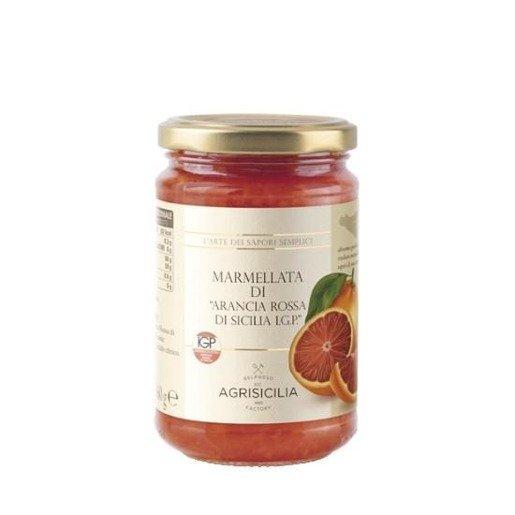 Agrisicilia Dżem z czerwonych pomarańczy 360 g