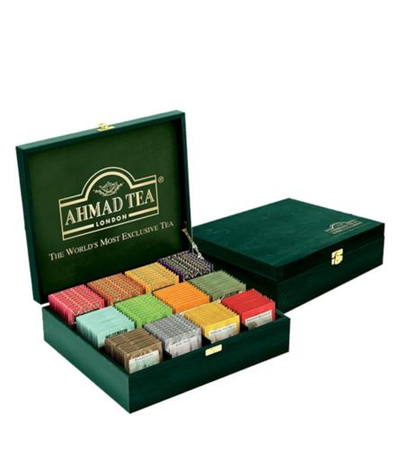 Ahmad Kolekcja herbat 12 smaków - 120 kopert w skrzyni