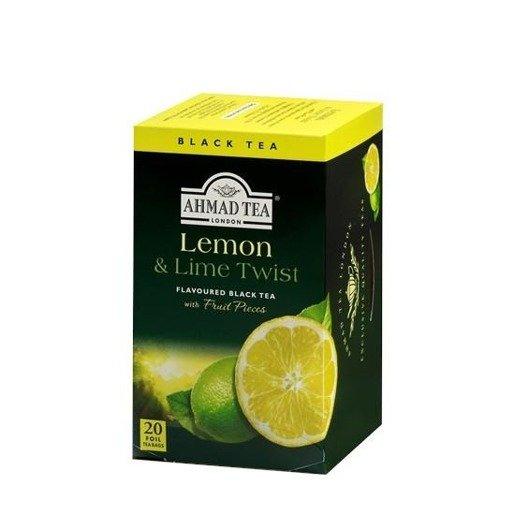 Ahmad Tea Lemon & Lime Twist - 20 saszetek