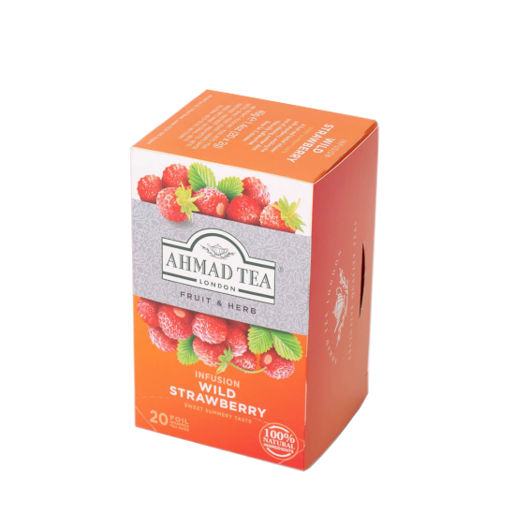 Ahmad Wild Strawberry Infusion 20 saszetek