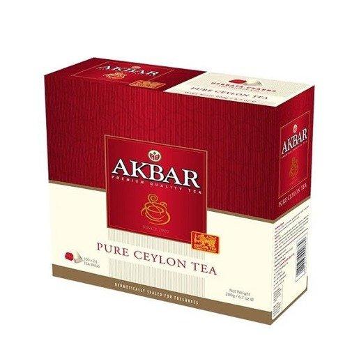 Akbar Cejlońska 100 torebek x 2g  herbata ekspresowa