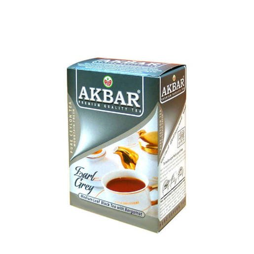 Akbar Earl Grey 100g herbata sypana