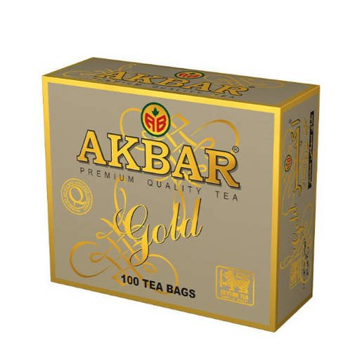 Akbar Gold Ceylon Tea 100 saszetek