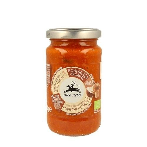 Alce Nero - sos pomidorowy z borowikami BIO 200 g