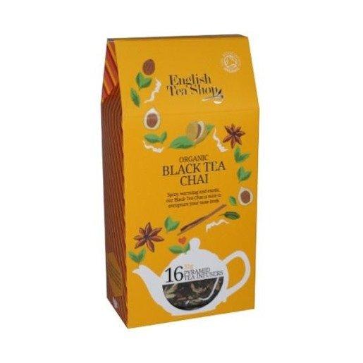 Black Tea Chai - 16 piramidek