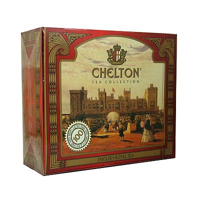 Chelton English Royal Tea czarna herbata 100 +25 torebek
