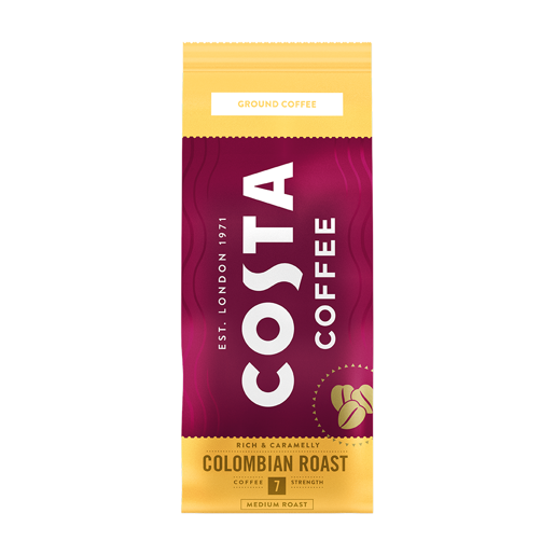 Costa Coffee Colombian Roast 200 g - kawa mielona