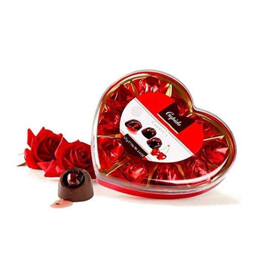 Cupido Cherises czekoladki z wiśniami 125g