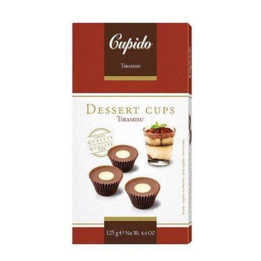 Cupido Dessert Cups - czekoladki tiramisu 125 g