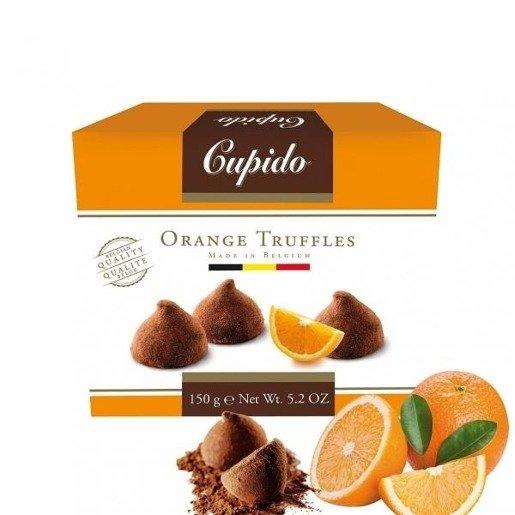 Cupido Orange Truffles  - trufle ze skórką pomarańczy 150g