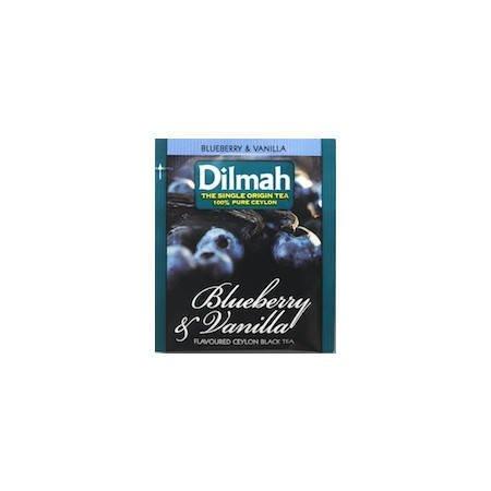 Dilmah Czarna jagoda i wanilia 25 saszetek