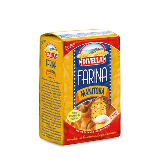 Divella Farina Manitoba włoska mąka pszenna 1kg
