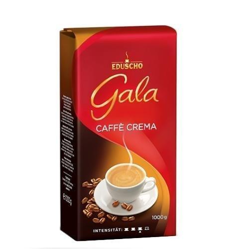 Eduscho Gala Caffe Crema 1kg kawa ziarnista