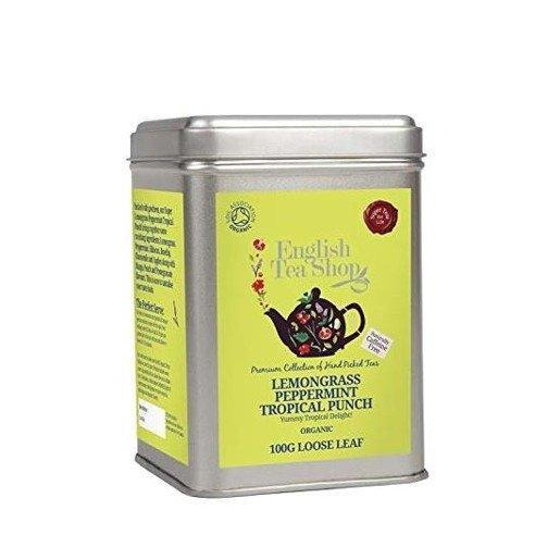 English Tea Shop Lemongrass Peppermint Tropical Punch 100g
