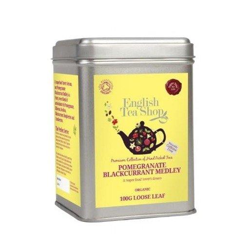 English Tea Shop Pomegranate Blackcurrant Medley 100g