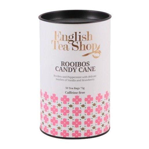 English Tea Shop Rooibos Candy Cane - 50 torebek
