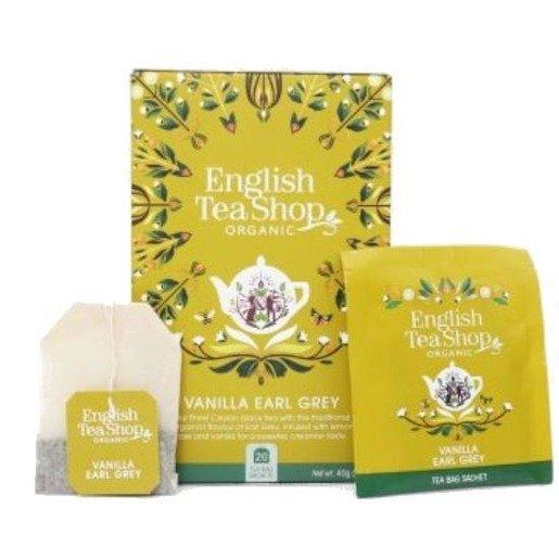 English Tea Shop Vanilla Earl Grey - 20 saszetek