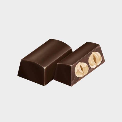 Feletti Nocciolato Fondente - czekoladki z orzechami 130g
