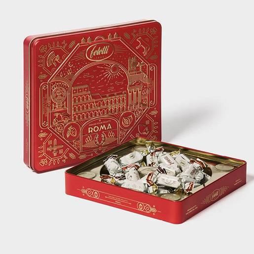 Feletti Zestaw prezentowy z czekoladkami Rzym 200g