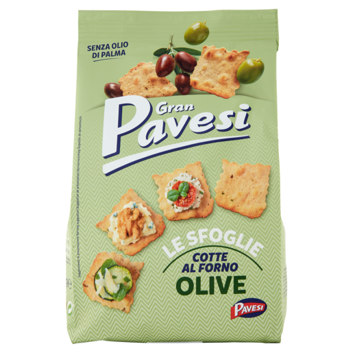 Gran Pavesi Le Sfoglie Cotte Al Frono Olive 150g