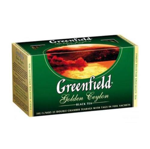 Herbata Greenfield Golden Ceylon 25 saszetek