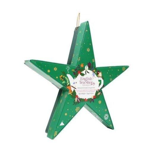 Holiday Collection Green Star - gwiazdka 6 piramidek