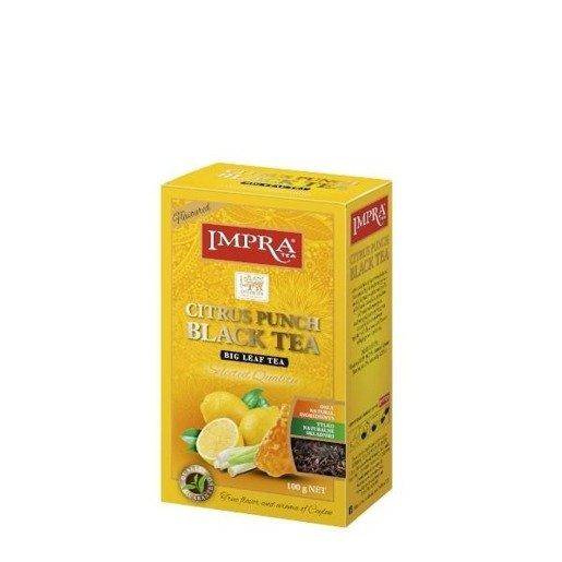 Impra - Citrus Punch Black Tea 100 g herbata sypana