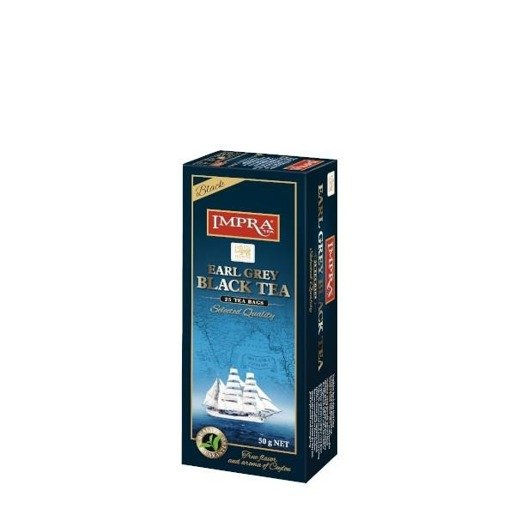 Impra - Earl Grey Black Tea 25x2g herbata ekspresowa