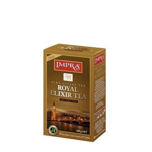 Impra Royal Elixir Tea Gold- czarna liściasta herbata 100g