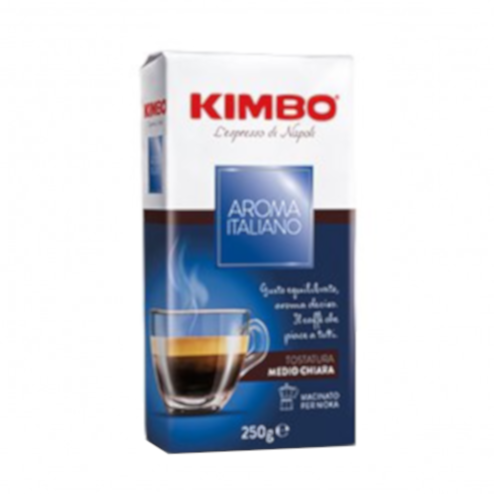 Kimbo Aroma Italiano 250g kawa mielona x 20