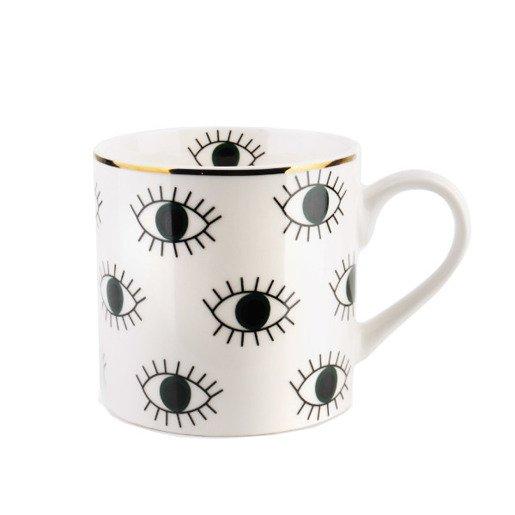 Kubek do kawy z otwartymi oczami 400 ml