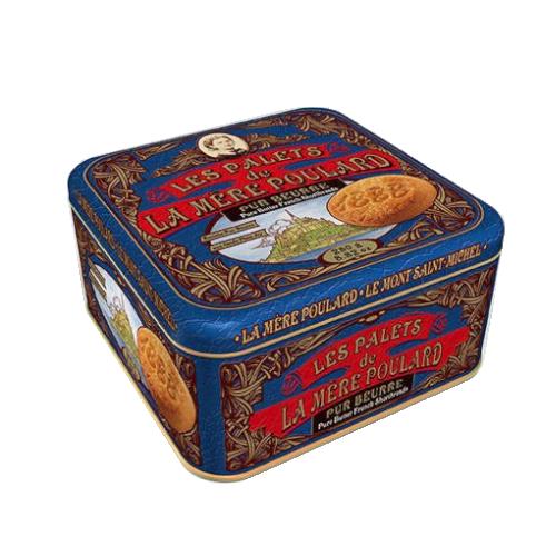 La Mere Poulard Les Palets Pur Beurre - Francuskie ciastka puszka 250g