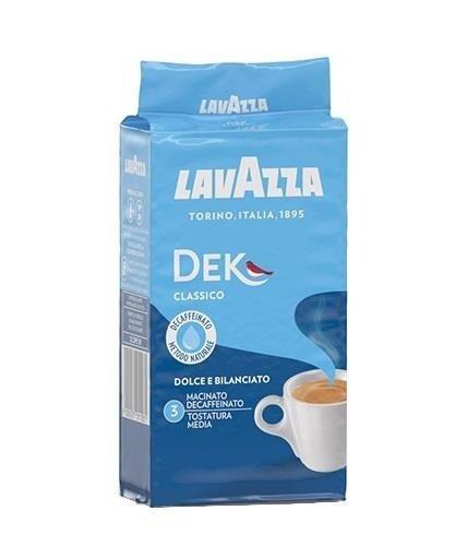 Lavazza Dek 250g kawa mielona bezkofeinowa x 10