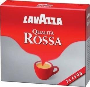 Lavazza Qualita Rossa 2x250g Włoska kawa mielona