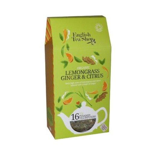Lemongrass Ginger Citrus - 16 piramidek