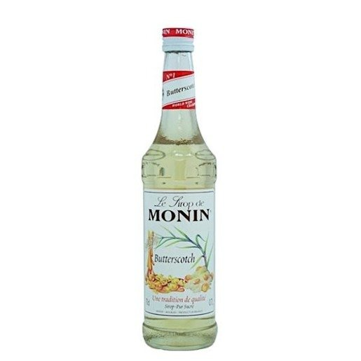 Monin Butterscotch 700 ml - syrop o smaku cukierków maślanych