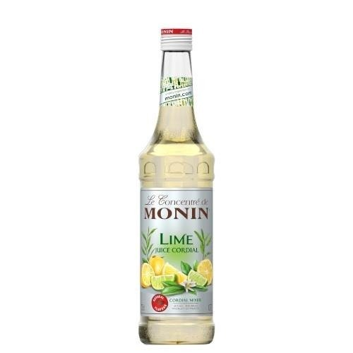 Monin Lime Juice Cordial 0,7 l - koncentrat cytrynowo - limonkowy