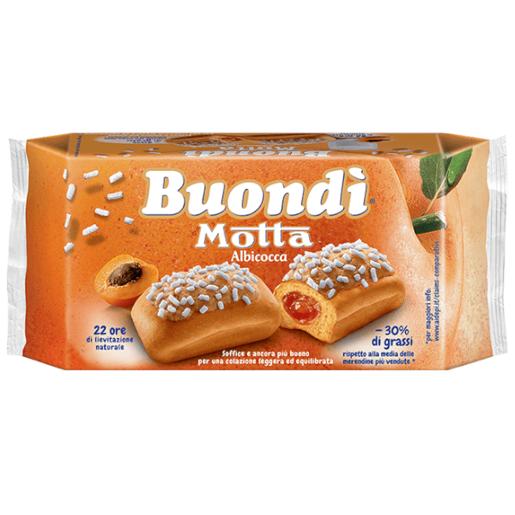 Motta Buondi Albicocca - bułeczki z morelą 258 g