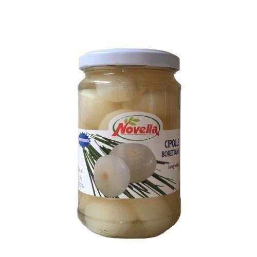 Novella Cipolle Borettane In Agrodolce - 314 ml cebulki Borettane słodko-kwaśne