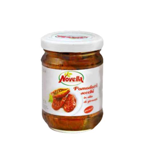 Novella Pomodori Secchi in olio di girasole - 314 ml pomidory suszone