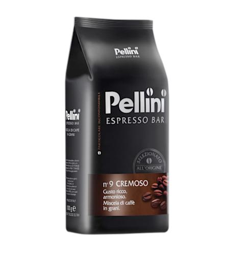 Pellini Espresso Bar 9 Cremoso 1kg ziarnista x 6