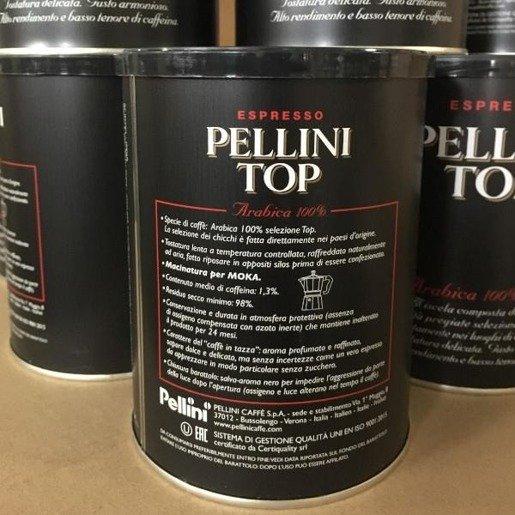 Pellini Top 250g kawa mielona puszka