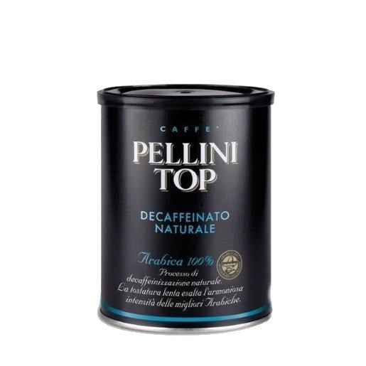 Pellini Top Bezkofeinowa 250g kawa mielona