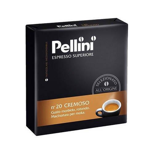 Pellini n'20 Cremoso 250g kawa mielona x2 (dwupak)