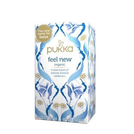 Pukka Feel New - 20 saszetek (dawniej Detox)