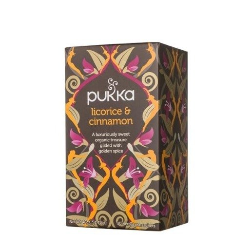 Pukka Licorice & Cinnamon BIO - 20 saszetek