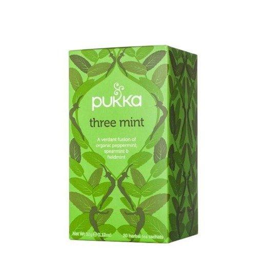 Pukka Three Mint  - 20 saszetek
