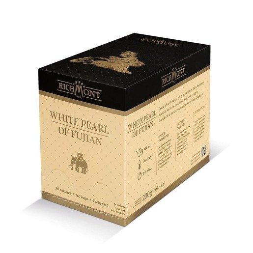 Richmont White Pearl of Fujian 50x4g herbata w saszetkach