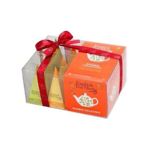 Rooibos Collection - zestaw herbat 12 piramidek