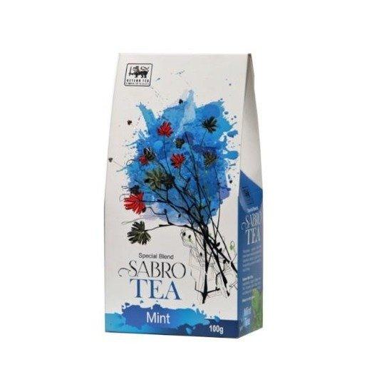 Sabro Tea Mint - zielona herbata o zapachu mięty 100 g